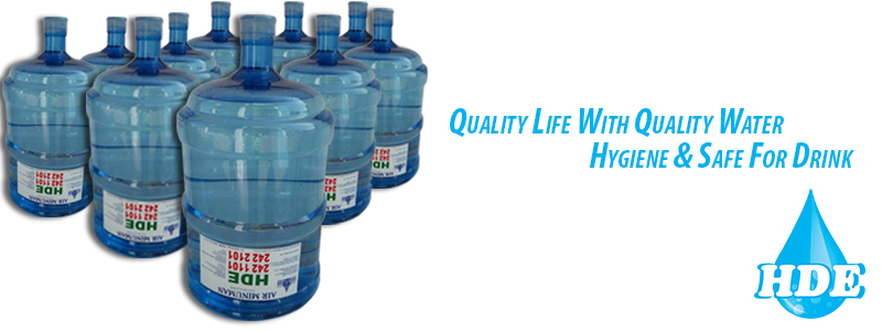 HDE Bottled Water